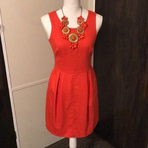 J. Crew orange wool blend dress - Size 0